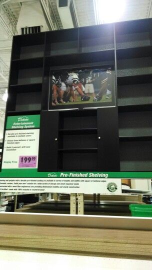 Entertainment center cheap for garage