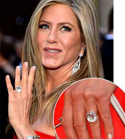 Jennifer Aniston Wedding Ring. It's possible to try unique designs and combination. Now, though there are lots of stunning manners of engagement rings, celebrities don't want to acquire replica engagement rings. It's a realistic appearance and enjoyable to wear. There's...