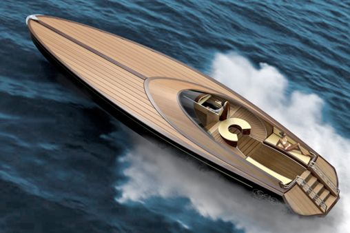 Sea King Luxury Yacht Design. Bond, James Bond...well it's the kind of boat you imagine him driving isn't it.