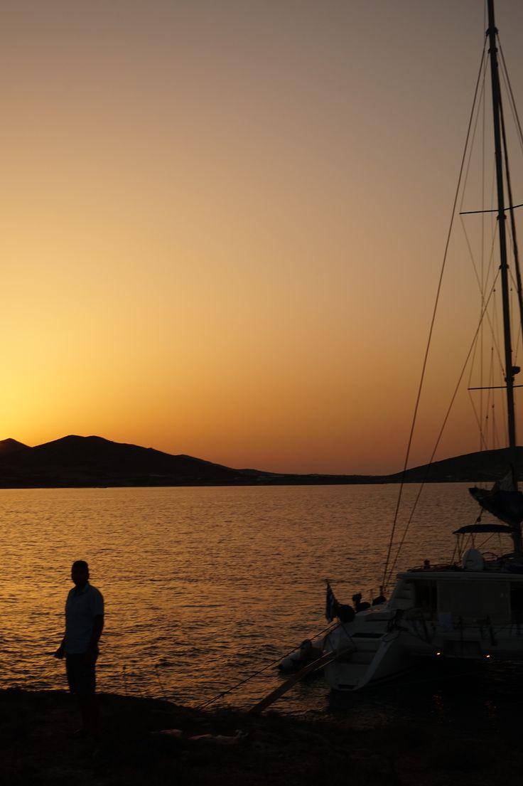 wedding on sailing yacht mystic wedding antiparos sunset greece