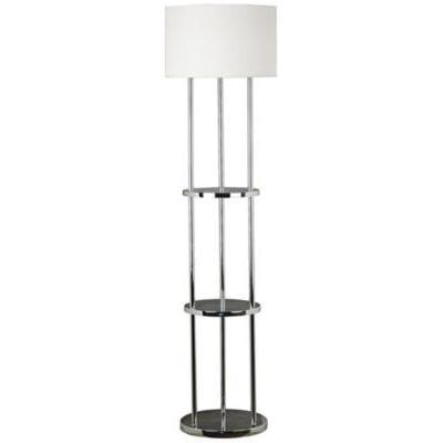 floor lamp with shelves floor. Black Bedroom Furniture Sets. Home Design Ideas