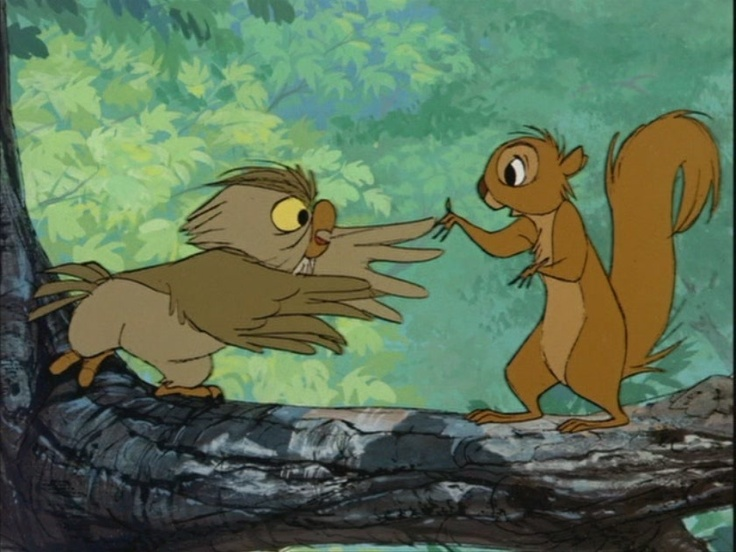 *ARCHIMEDES & ARTHUR ~ The Sword in the Stone, 1963