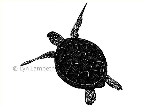 Turtle clipart, instant download, turtle SVG, commercial use