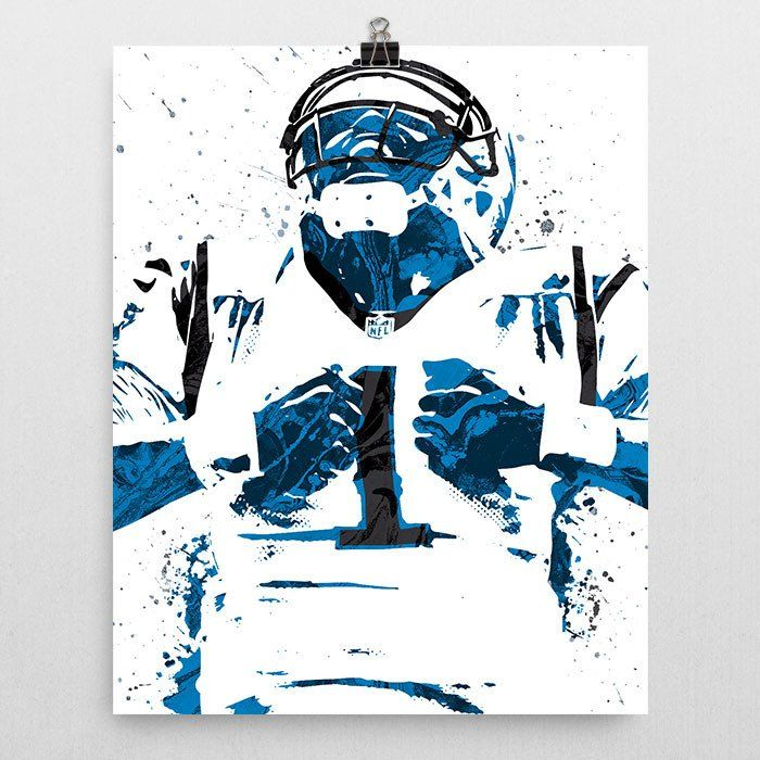 Custom Cam Newton Carolina Panthers Poster. Shop PixArtsy.com for posters, mugs, pillows & more of your favorite teams and characters. FREE US Shipping.