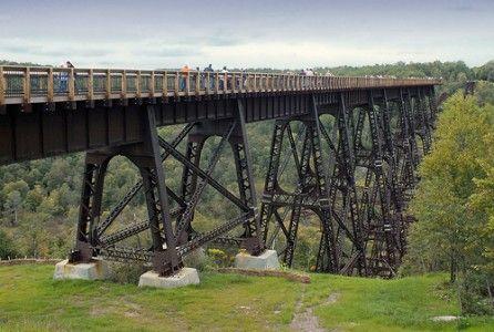 Puente Kinzua: Una vez el más largo puente de ferrocarril del mundo