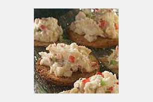 Deviled Crabmeat Spread recipe