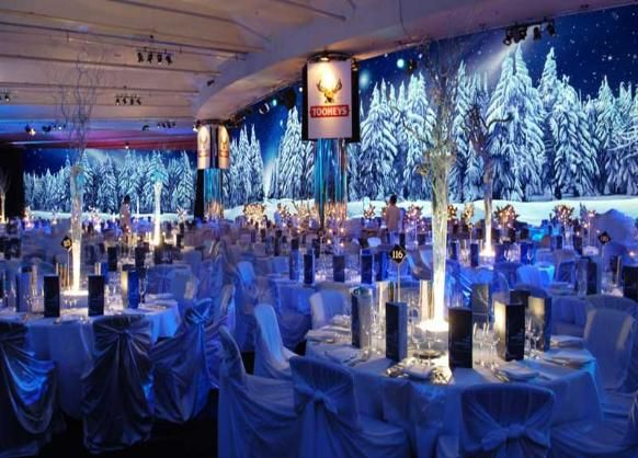 Classy christmas decorations outdoor - Quinceanera Winter Themes Any Theme Destination That You Desire