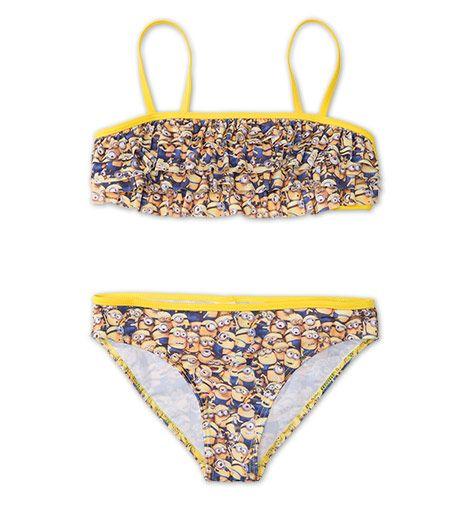 Bikini 2 delen voor één prijs geel