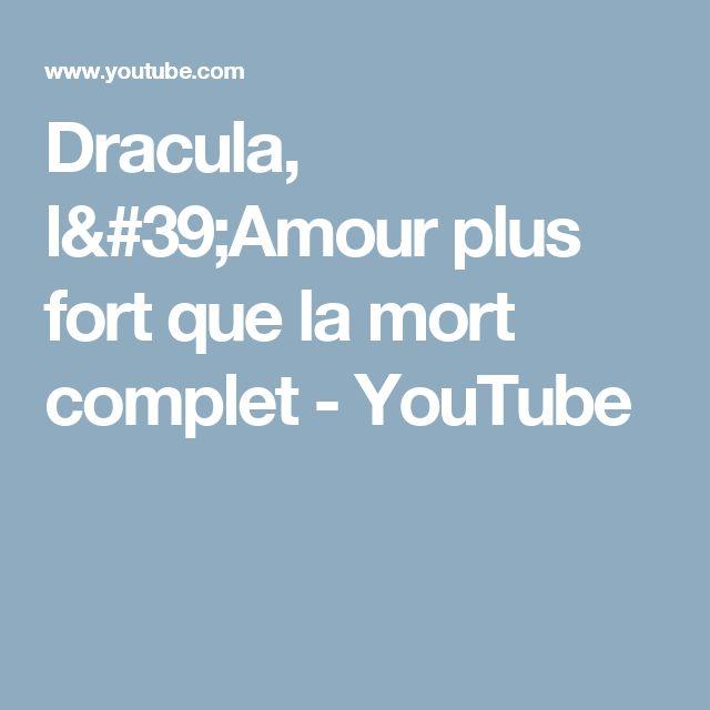 Dracula, l'Amour plus fort que la mort complet - YouTube