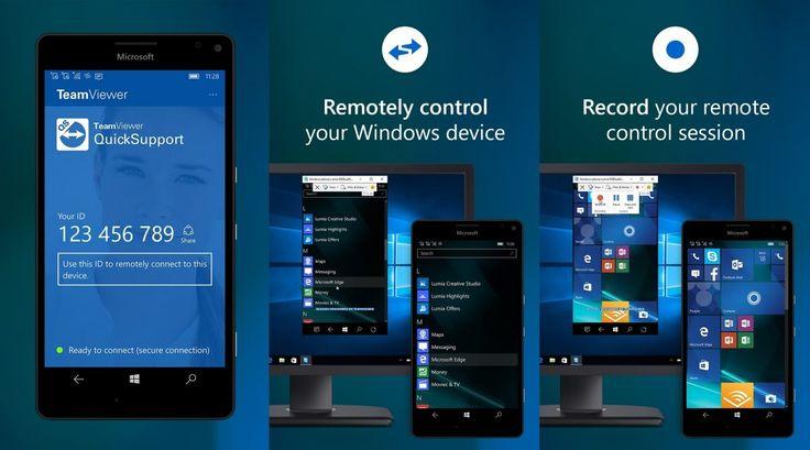 TeamViewer QuickSupport Preview – La nuova app per controllare da remoto il nostro smartphone Windows 10   Insider http://www.sapereweb.it/teamviewer-quicksupport-preview-la-nuova-app-per-controllare-da-remoto-il-nostro-smartphone-windows-10-insider/ TeamViewer QuickSupport Preview Il team di TeamViewer, dopo aver portato la propria applicazione ufficiale che permette di accedere al nostro PC da remoto su Windows 10 e Windows 10 Mobile in versione Universal (TeamViewer –