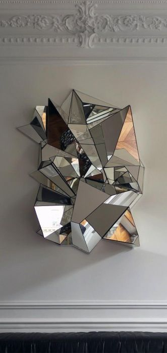 Froissé by Mathias Kiss. Galerie Armel Soyer in Paris. http://www.bykoket.com/all-products.php#mirrors