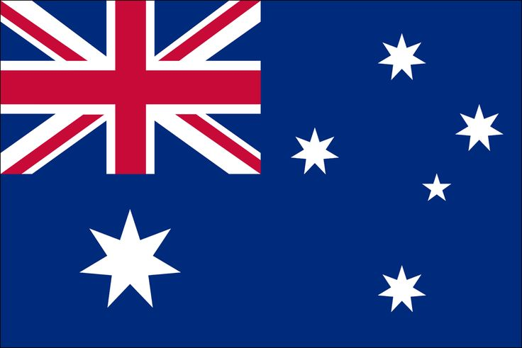 Flag of Australia, 3 foot by 5 foot.