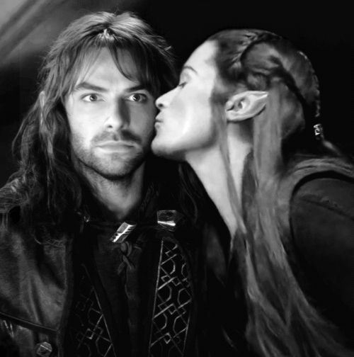 <b>Kili and Tauriel</b>