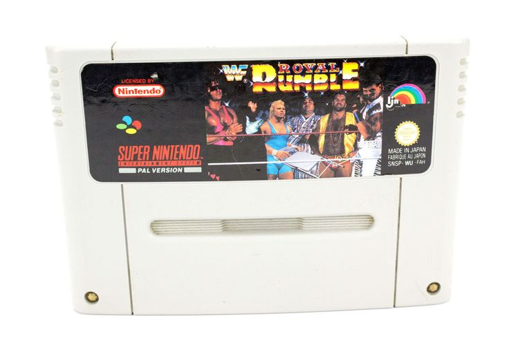 WWF Royal Rumble for the Super Nintendo, SNES - UK PAL, 1993