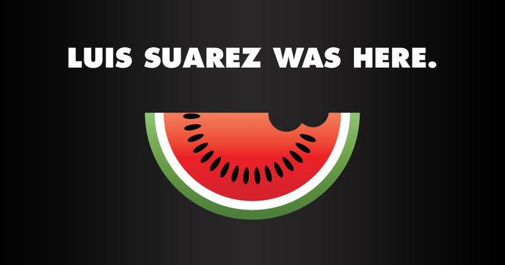 Nieuws van de dag: het bijten tijdens de WK-wedstrijd tussen Uruguay en Italievan Luis Suarez in de schouder vanGiorgio Chiellini. …
