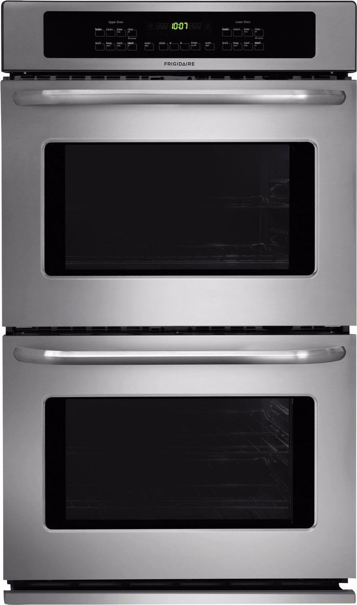 Uncategorized Black Kitchen Cabinets With Stainless Steel Appliances best 25 double ovens ideas on pinterest frigidaire ffet2725ps 27 electric wall oven in stainless steel