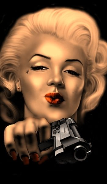 marilyn monroe colour art - Google Search