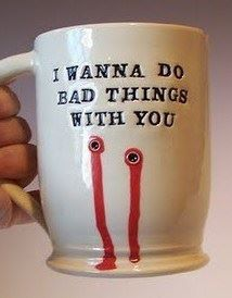 true blood. - I don't watch the show but I love this mug!!