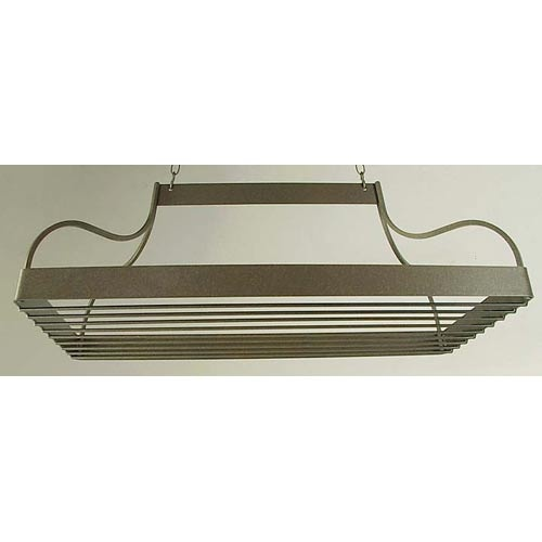 Grace Manufacturing: Mediterranean Pot Rack and Grid with Hooks and Chains, ~$200