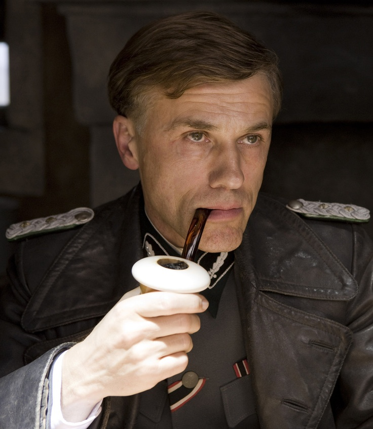 Christoph Waltz as Hans Landa in Inglorious Basterds (2009)