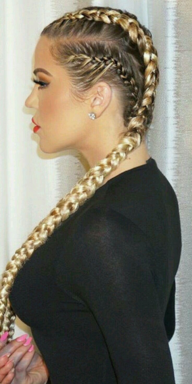 Khloe braid