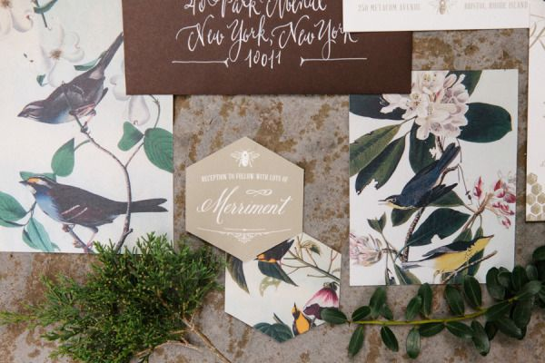 Rustin Audubon wedding inspiration: http://www.stylemepretty.com/little-black-book-blog/2014/08/15/rustic-audubon-wedding-inspiration/ | Photography: http://www.erinmcginn.com/