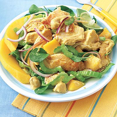 Curried Chicken Salad #recipe