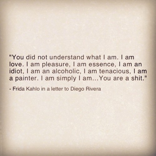Love Frida Kahlo!