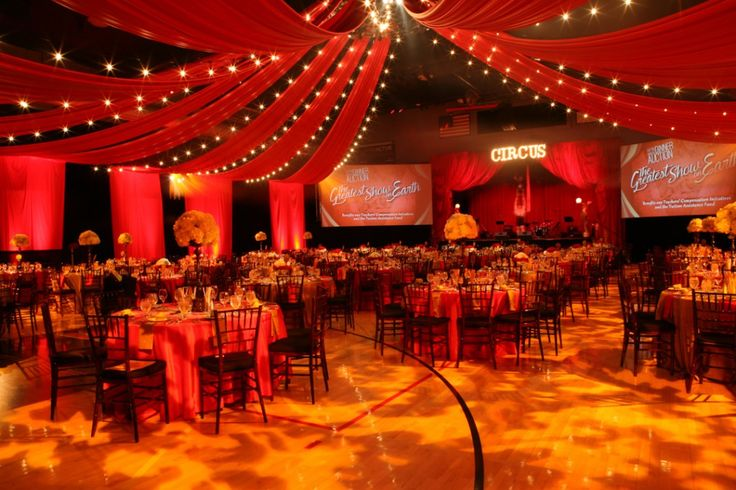 Circus Themed Gala Event Circus Theme Party Carnival