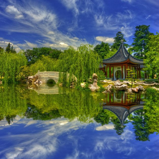 Get lost in a Chinese garden in San Marino. | 14 Ways To Tour The World Without…
