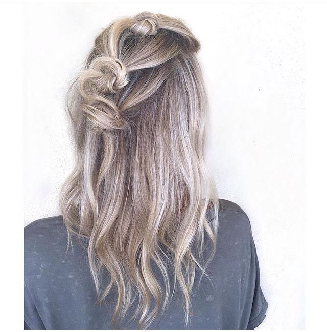 Really what I want for my hair color maybe a bit heavier with the blonde but I love the cool tones of the overall look!