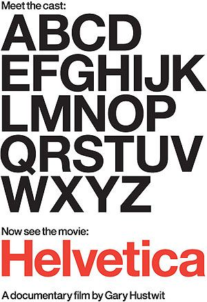 Directed by Gary Hustwit, and released in 2007, Helvetica is a feature-length independent film about typography, graphic design and global visual culture. It looks at the proliferation of one typeface, the legendary Helvetica, as part of a bigger picture as to how type affects our culture. It also delves into the history of the sans serif typeface, which was developed in 1957 by Swiss graphic designer Max Miedinger. #helvetica #font #typography #design