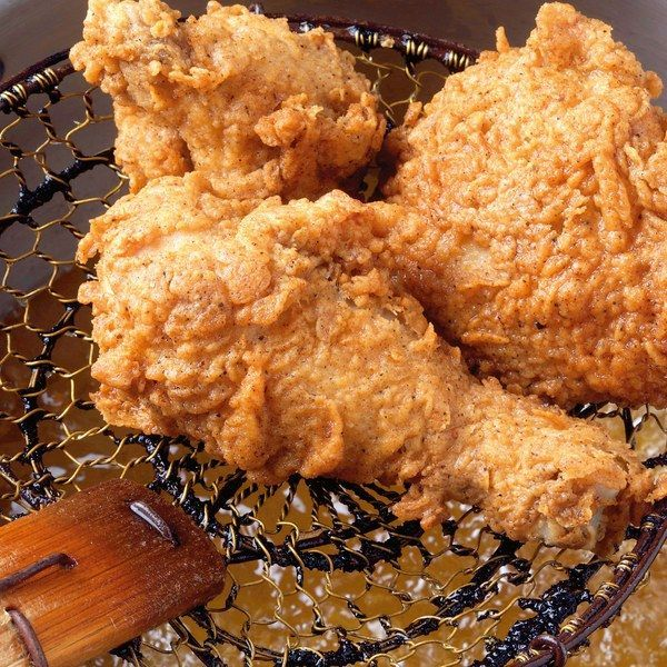 Rosemary-Brined, Buttermilk Fried Chicken (Use smoked paprika)