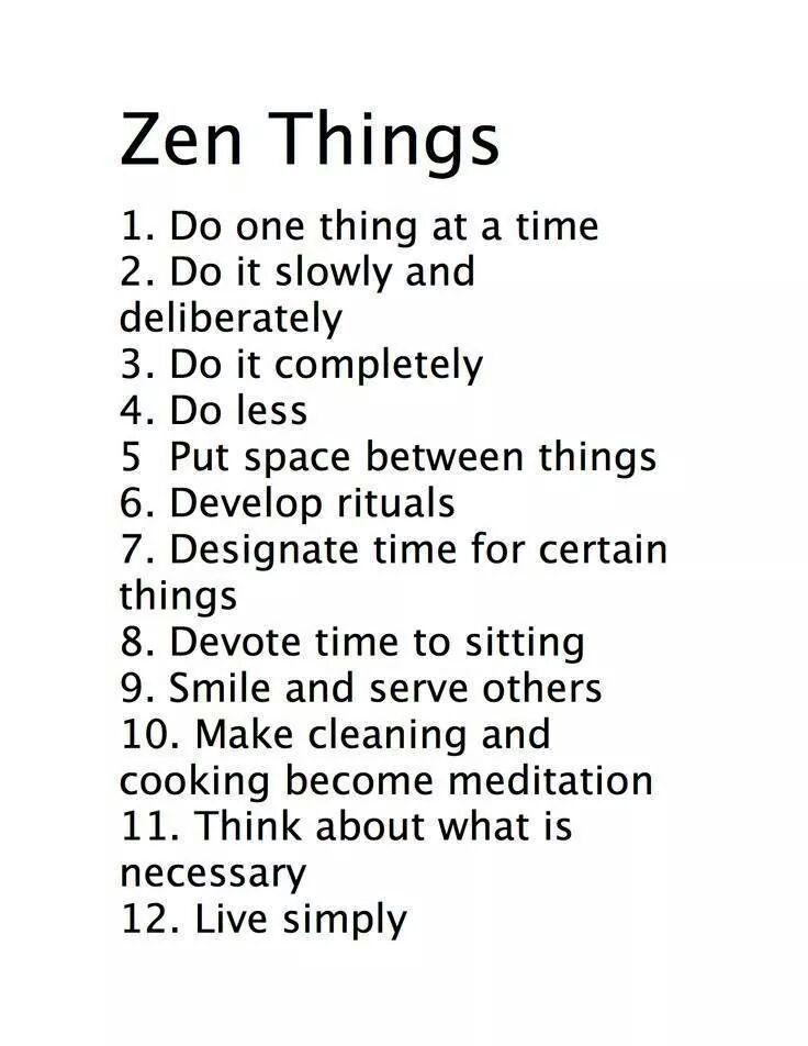 Zen things