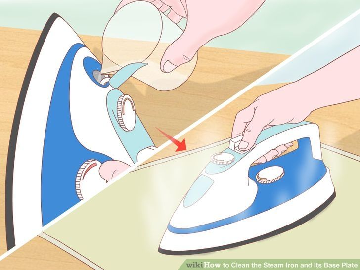 How to properly clean a steam iron
