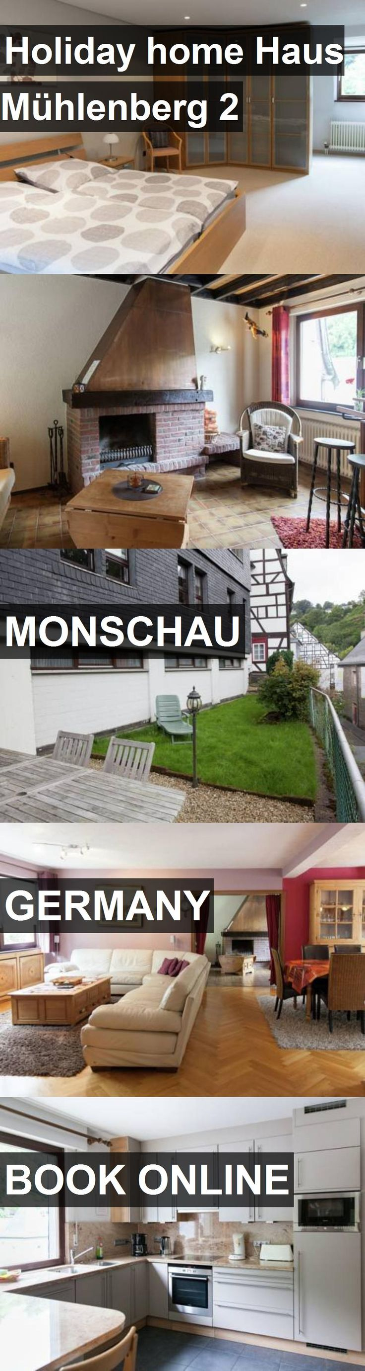 Hotel Holiday home Haus Mühlenberg 2 in Monschau, Germany. For more information, photos, reviews and best prices please follow the link. #Germany #Monschau #travel #vacation #hotel