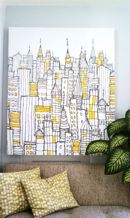 50 More Easy Wall Art Ideas Interior Decorating Pinterest Diy And