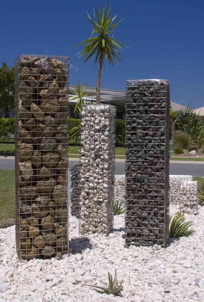 Gabion Cages, gabion baskets, gabion retaining wall, gabion rock, gabion letterbox, curved gabion wall, gabion planter, advantages of gabion cages