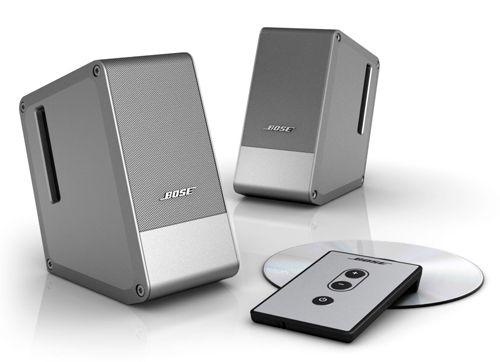 Caixas de Som para Computador Bose Computer MusicMonitor - Cinza  Qualidade de áudio excepcional em um elegante design