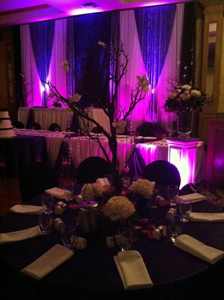 Purple Wedding Decorations Toronto Brampton Indian
