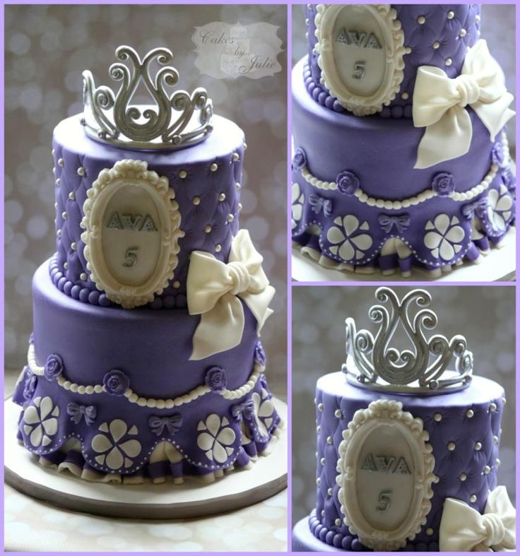 Sofia The First Cake Ideas ~ Roundup | Party Ideas By Seshalyn
