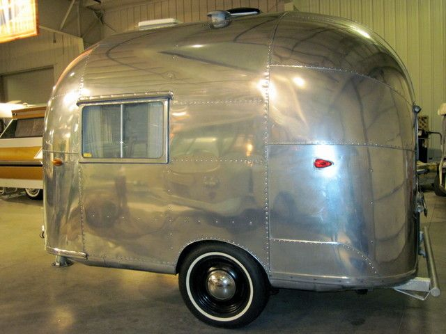 "1958 Airstream ""The Little Prince"" The only one ever built. The prototype for the Airstream Bambi."