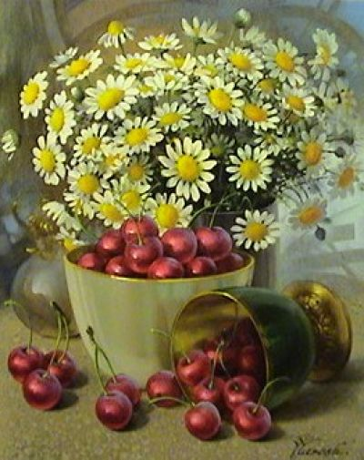 ✿Basket fruits & Vegetables✿ YURI YAROSH