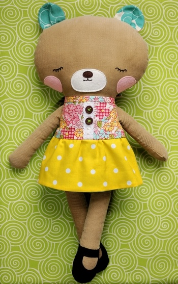 Retro-mama  | bear plush #softie #doll #toy