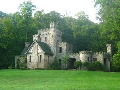 United States Largest Castles | squire s castle in willoughby hills, Cleveland, Ohio