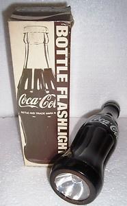Coca-Cola Taschenlampe in Flasche bottle flashlight hebrew writing from Israel