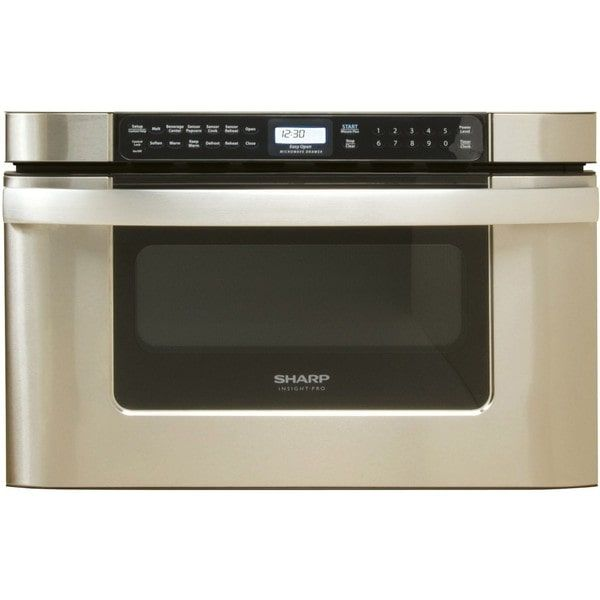 Sharp Insight Pro Series Built In 24 Inch Microwave Drawer By Usa