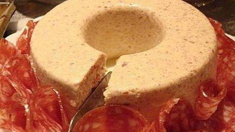 Receita de mousse de salaminho