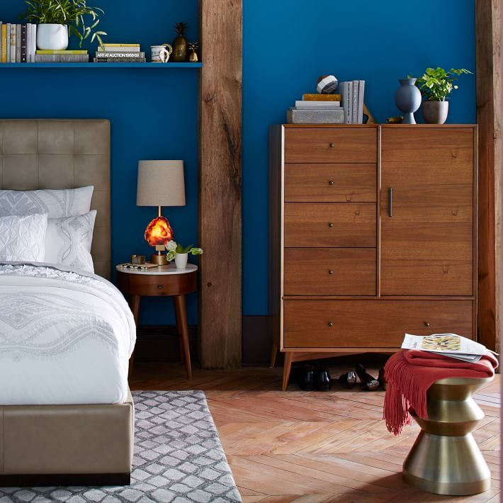 Mid century chifforobe acorn 60s style sustainability for Bedroom inspiration west elm