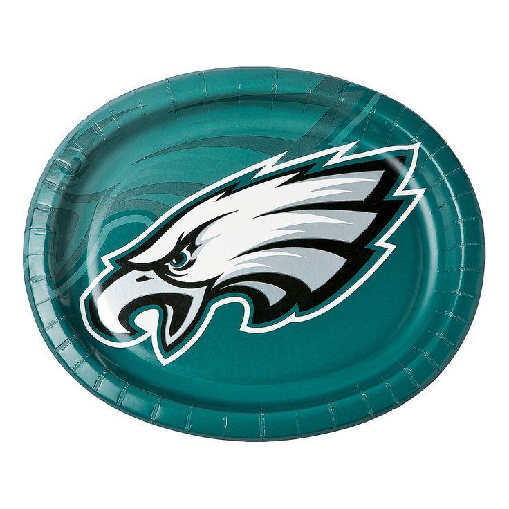 NFL® Philadelphia Eagles™ Oval Dinner Plates - OrientalTrading.com